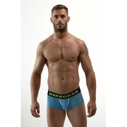 DMXGEAR pánské děrované modré boxerky Hole Net Boxer