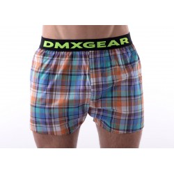 DMXGEAR luxury men's trunks Exclusive Orange Tartan
