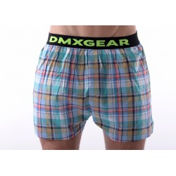DMXGEAR Luxus Top Männer Boxer Shorts Grün EXCLUSIVE TARTAN