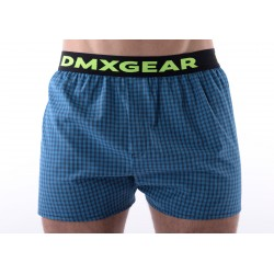DMXGEAR luxury men's trunks Exclusive Blue Tartan