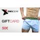 DMXGEAR Geschenkkarte im Wert 50 EUR