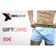 DMXGEAR gift card in amount 50 EUR