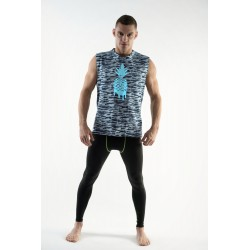 DMXGEAR Sleeveless T-shirt Pineapple PURE SPORT army blue