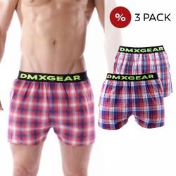 3 Pack DMXGEAR Luxus Top Männer Boxer Shorts TARTAN