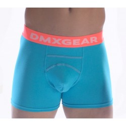DMXGEAR luxury cotton turquoise men's boxer brief Anatomically Fit Boxer