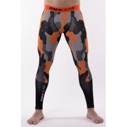 Leggings de compression DMXGEAR PRO ATHLETE Multicolore Gris/Bleus