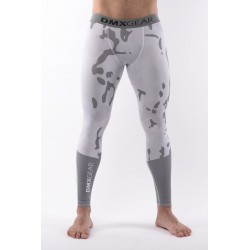 Leggings de compression DMXGEAR PRO ATHLETE Multicolore Gris/Blancs