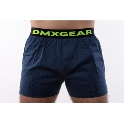DMXGEAR luxury mens dark blue trunks Dark Night Tartan