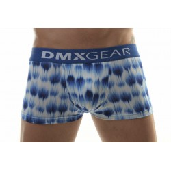 DMXGEAR luxury Leopard men's boxer brief white-blue Leopard Boxers