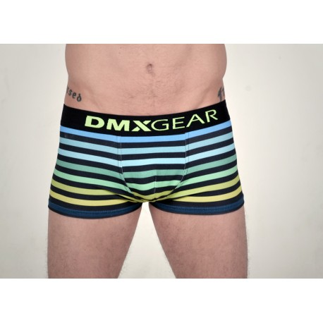DMXGEAR luxury blue-green men's boxer brief with short legs Freedom Boxer