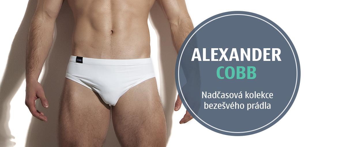 Nadčasová kolekce bezešvého prádla alexander cobb